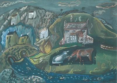 Influence and Originality: Ivon Hitchens, Frances Hodgkins, Winifred Nicholson: Landscapes c1920 to c1950