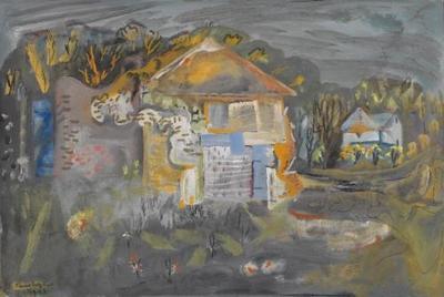 FH1227; No 1 Abandoned Cottage, Cerne Abbas