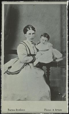 RC2015/4/4/32; Frances Hodgkins as an Infant