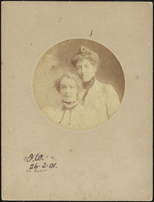 Winnie Brotherton and Frances Hodgkins