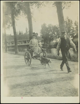 Frances Hodgkins Riding in a Dog Cart, Holland