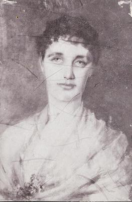 RC2015/4/4/127;  'Portrait of Ethel McLaren', 1893