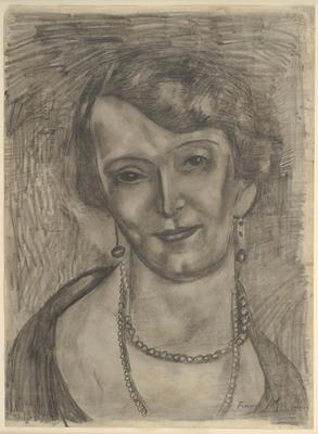 Woman with Pearls (Dorothy Selby)