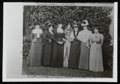 Group of Women with Frances Hodgkins (second from left) in Dunedin