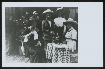 Frances Hodgkins with Two Pupils at St Valéry-sur-Somme