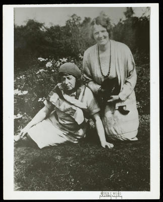 Frances Hodgkins and Mrs Coggan