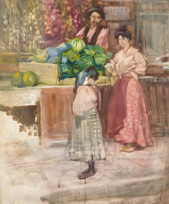 FH0424; Untitled [The Watermelon Seller]