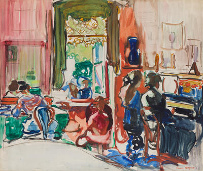 FH0505; Untitled [The Piano Lesson]