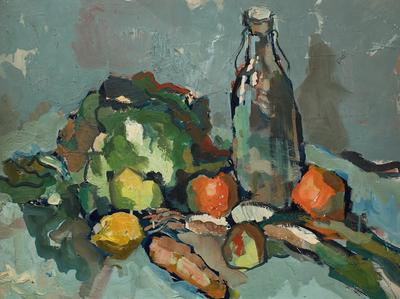Untitled [Still Life with a Bottle]