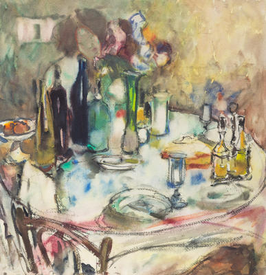 Untitled [Laying the Table]
