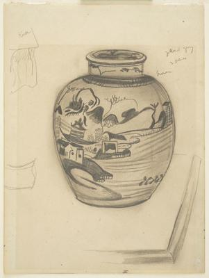 Chinese Vase - Notes for Colour