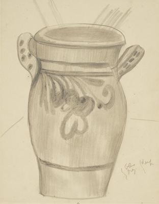 Vase with Handles - Notes for Colour