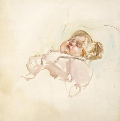 Untitled [Sleeping Child]