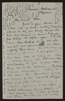 Letter from Frances Hodgkins to Dorothy Kate Richmond