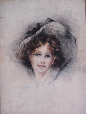 Girl in Gainsborough Hat