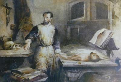 FH0067; The Anatomist Andreas Vesalius (1514-64)