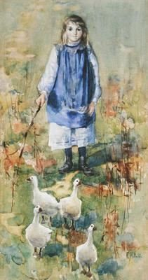 FH0101; A Goose Girl