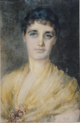 FH0104; Portrait of Ethel McLaren