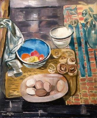 Still Life with Eggs and Mushrooms