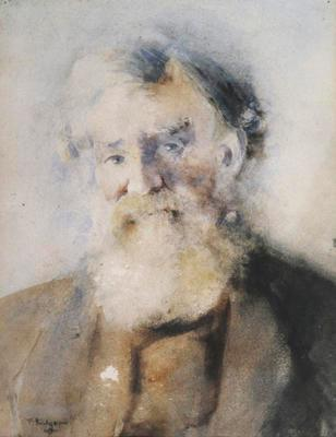 FH0130; Study of an Old Man