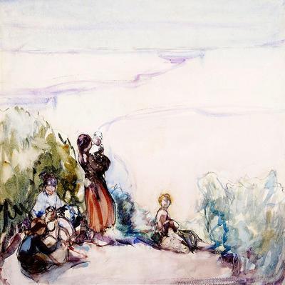Gypsies on a Hill