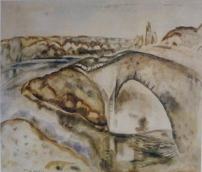 Untitled [Stone Bridge]