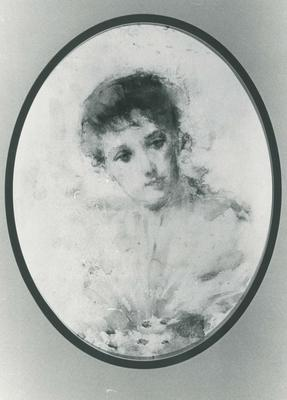 Portrait of an Unidentified Young Woman