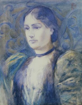 FH0248; Portrait of Mrs J H Scott