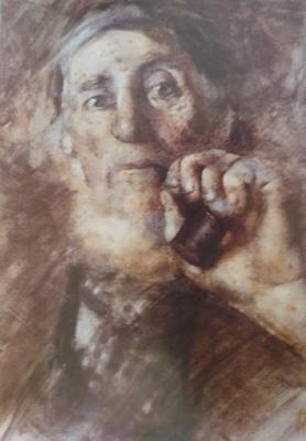 FH0289; Old Man with Pipe