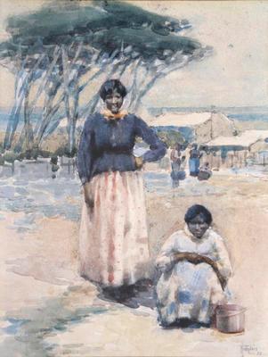 Two Maori Women