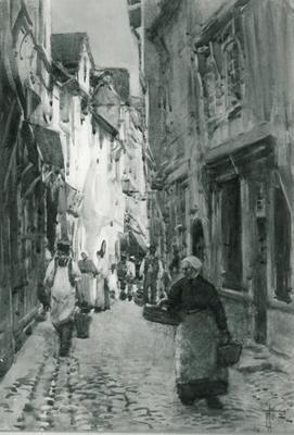 A Street Scene, France