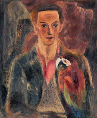 Portrait of Cedric Morris