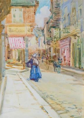 Rue de L'Horloge, Dinan