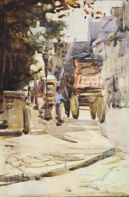 FH0400; Village Street Scene