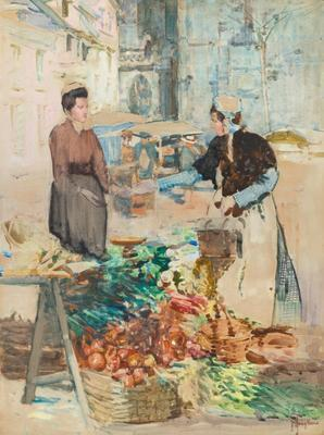 Vegetable Stall France