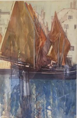 The Fishing Fleet, Chioggia