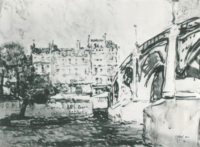 FH0536; On the Seine, Paris