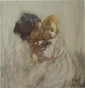 FH0559; Woman and Child