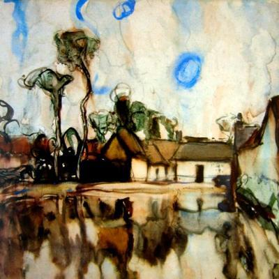 Houses in a Landscape