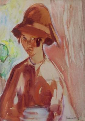 Untitled (Girl in a Cloche Hat)