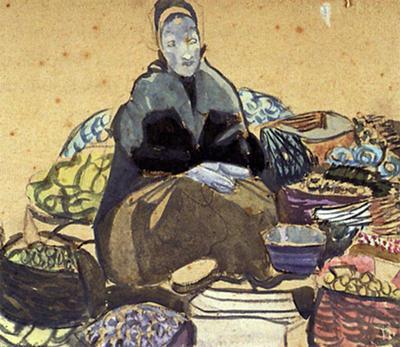 Peasant Woman at Market