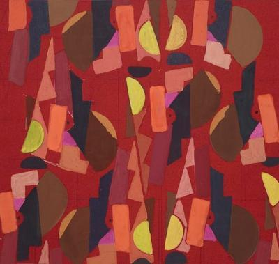 Untitled (Textile Design no Vl)