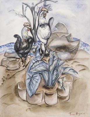 Plants and Cockerels