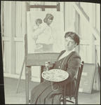 Frances Hodgkins in her Studio, Wellington