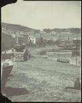 Mousehole, Cornwall Harbour with Frances Hodgkins Seated Front Right