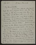 Letter from Frances Hodgkins to Rachel Hodgkins