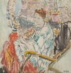 Woman Seated in a Rocking Chair